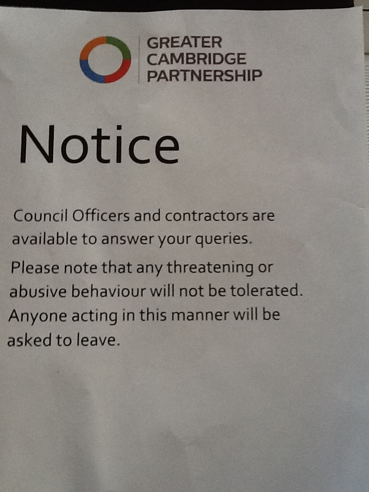 GCP harassment Notice