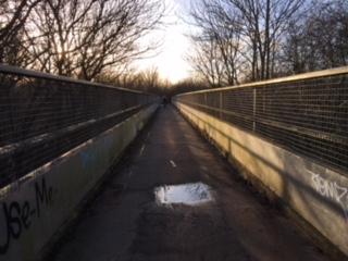 Bridge over M11